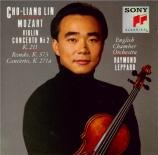MOZART - Lin - Concerto pour violon n°2 'Strasbourg' K.211