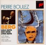 BERG - Boulez - Lulu : suite