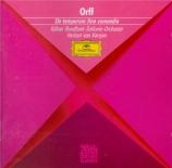 ORFF - Karajan - De temporum fine comoedia