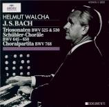 BACH - Walcha - Sonate en trio pour orgue n°1 en mi bémol majeur BWV.525