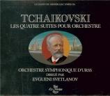 TCHAIKOVSKY - Svetlanov - Suite pour orchestre n°1 en ré mineur op.43