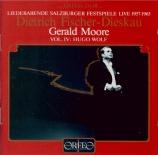 Liederabende Salzburger Festspiele Vol.4