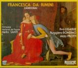 ZANDONAI - Santi - Francesca da Rimini Enregistrement Radio France le 15 mars 1976