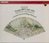 BACH - Grumiaux - Sonate pour violon et clavier BWV 1014