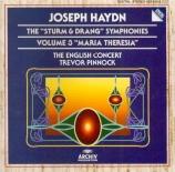 The 'Sturm und Drang' Symphonies Vol.3