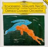 SCHOENBERG - Orpheus Chamber - Symphonie de chambre n°1 op.9