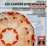 OFFENBACH - Cluytens - Contes d'Hoffmann (Les) : extraits