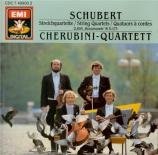 SCHUBERT - Cherubini Quart - Quatuor à cordes n°9 en sol mineur D.173