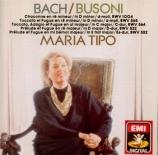 BUSONI - Tipo - Chaconne d'après la Partita n°2 de Bach BWV.1004