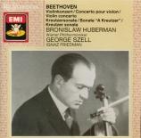 BEETHOVEN - Huberman - Concerto pour violon en ré majeur op.61
