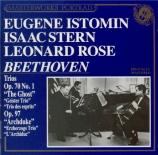 BEETHOVEN - Stern - Trio avec piano op.70 n°1 'Des esprits'