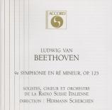 BEETHOVEN - Scherchen - Symphonie n°9 op.125