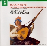 BOCCHERINI - Scimone - Symphonie pour orchestre n°16 en la majeur op.37