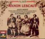 AUBER - Marty - Manon Lescaut
