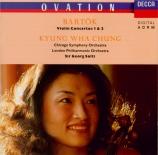 BARTOK - Chung - Concerto pour violon n°1 Sz.36 BB.48a