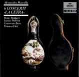 MARCELLO - Holliger - Six concertos pour violon (ou hautbois) 'La cetra'