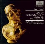 PURCELL - Mackerras - Hail, bright Cecilia!, ode à Ste Cécile Z.328