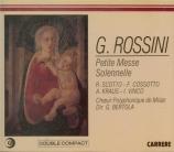 ROSSINI - Bertola - Petite messe solennelle