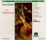 MEYERBEER - Diederich - Les Huguenots