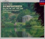 HAYDN - Dorati - Symphonie n°103 en ré majeur Hob.I:103 'Drum roll' (Rou