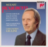MOZART - Giulini - Requiem pour solistes, chœur et orchestre en ré mineu