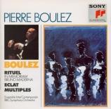 BOULEZ - Boulez - Rituel