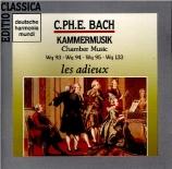 BACH - Les Adieux - Quatuor pour flûte traversière, viole de gambe, viol