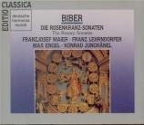 BIBER - Junghänel - Sonate du rosaire n°1 'Jesu, den du, o Jungfrau, vom