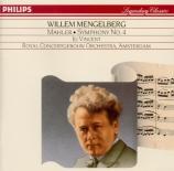 MAHLER - Mengelberg - Symphonie n°4