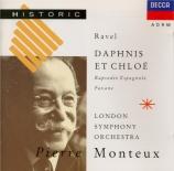 RAVEL - Monteux - Daphnis et Chloé, ballet pour orchestre et chœur mixte