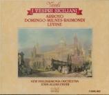 VERDI - Levine - I vespri siciliani, opéra en cinq actes (version 1855 e
