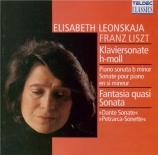 LISZT - Leonskaja - Sonetto 104 del Petrarca, pour piano S.161 - 5 (Années