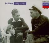 BRITTEN - Britten - Billy Budd, opéra op.50