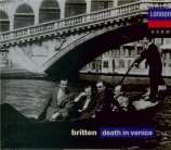BRITTEN - Bedford - Death in Venice (Mort à Venise), opéra op.88