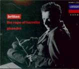 BRITTEN - Britten - The rape of Lucretia (Le viol de Lucrèce), opéra op