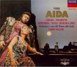 VERDI - Maazel - Aida, opéra en quatre actes