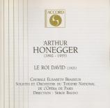 HONEGGER - Baudo - Le roi David, oratorio H.37