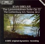 SIBELIUS - Järvi - Lemminkäis-sarja (Quatre légendes de Lemminkäinen), s