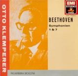BEETHOVEN - Klemperer - Symphonie n°1 op.21