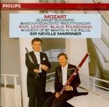 MOZART - Marriner - Concerto pour clarinette et orchestre en la majeur K