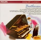 BEETHOVEN - Kovacevich - Concerto pour piano n°3 en ut mineur op.37