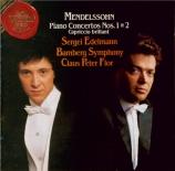 MENDELSSOHN-BARTHOLDY - Flor - Concerto pour piano et orchestre n°1 en s