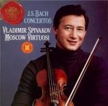 BACH - Spivakov - Concerto pour hautbois et violon en do mineur BWV.1060