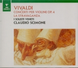 VIVALDI - Scimone - Concerto pour violon, cordes et b.c. en do majeur op