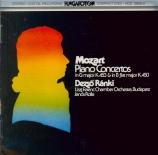 MOZART - Ranki - Concerto pour piano et orchestre n°17 en sol majeur K.4