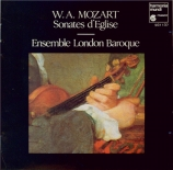 MOZART - London Baroque - Sonate d'église n°6, pour orgue et cordes en s