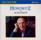 SCHUMANN - Horowitz - Sonate pour piano n°3 en fa mineur op.14 'Concert