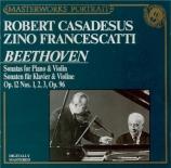 BEETHOVEN - Francescatti - Sonate pour violon et piano n°1 op.12 n°1
