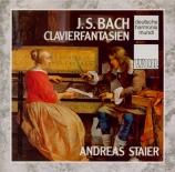 BACH - Staier - Prélude pour clavier en la mineur BWV.922