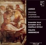 LASSUS - Herreweghe - Lamentations de Jérémie